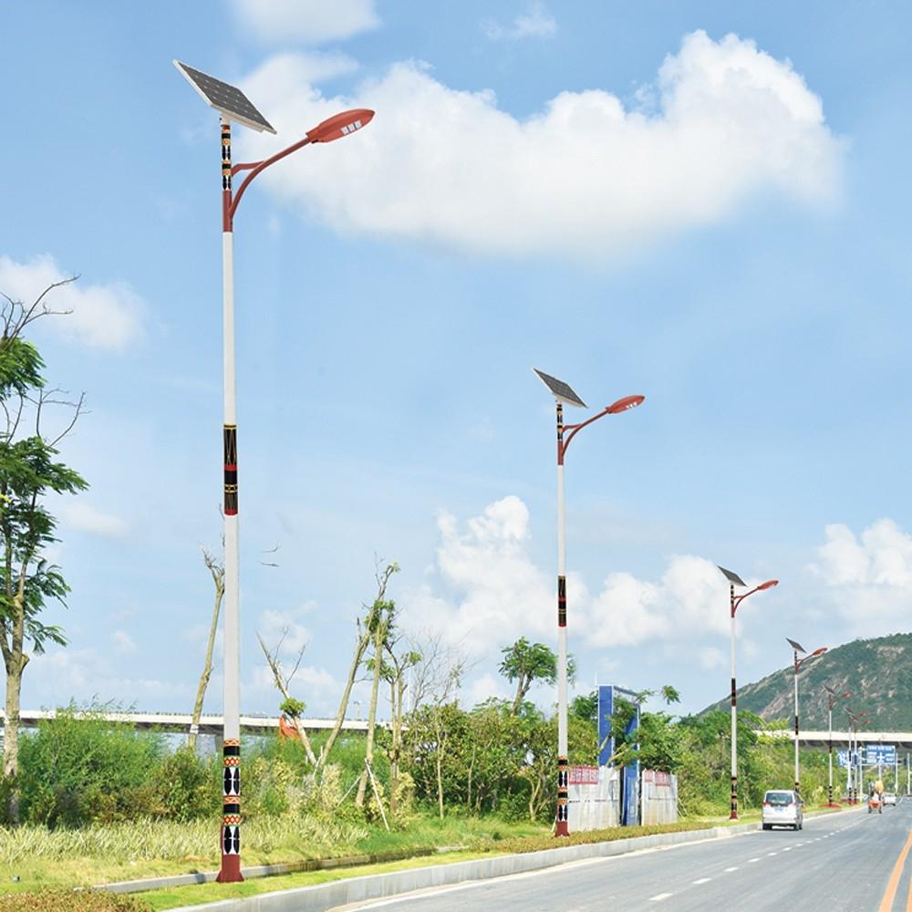 LED亮化工程景观照明灯具 太阳能路灯型号LGM-LDEG-12系列民族特色路灯