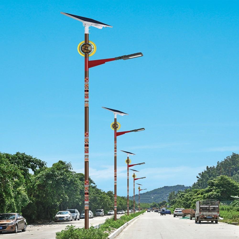 LED亮化工程景观照明灯具 太阳能路灯型号LGM-LDEG-10系列民族特色路灯