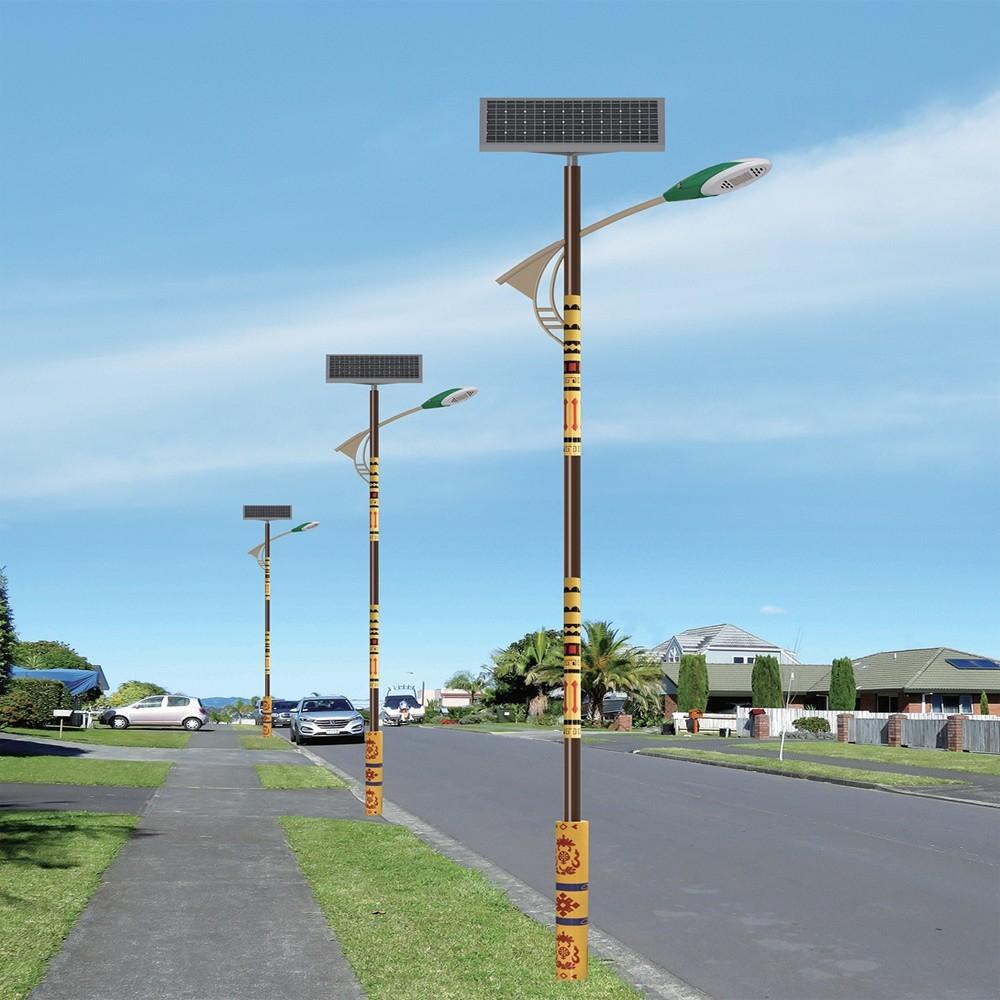LED亮化工程景观照明灯具 太阳能路灯民族特色路灯型号LGM-LDEG-17系列